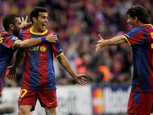 """""""Barcelona"""" pelnīti triumfē Čempionu līgā"""