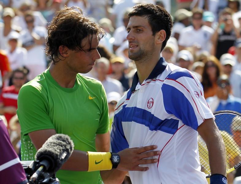 Vai Džokovičs atņems Nadalam arī Vimbldonas titulu?