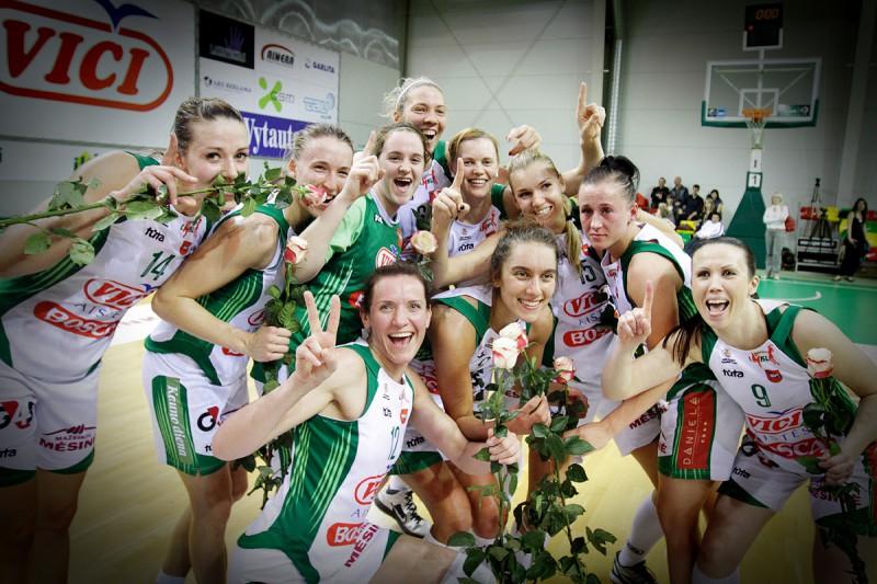 """Aija Putniņa - Lietuvas čempione un Baltijas """"triple crown"""" ieguvēja"""