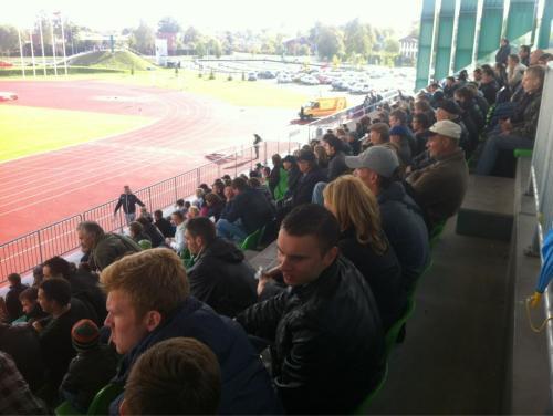 Jelgavā uzstādīts Virslīgas sezonas apmeklējuma rekords - 1 150 skatītāji