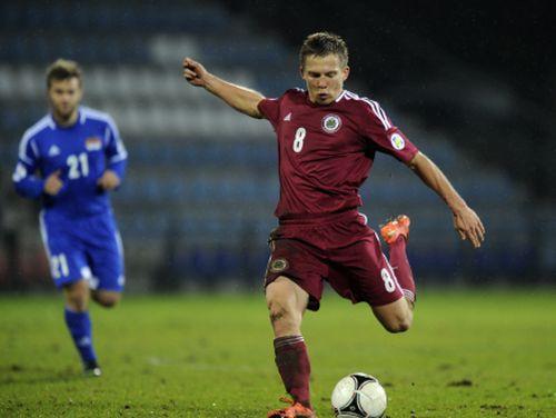 Latvijas gada labākais futbolists - Aleksandrs Cauņa