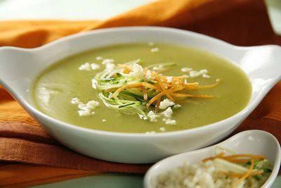 Zaļā brīvdienu zupa