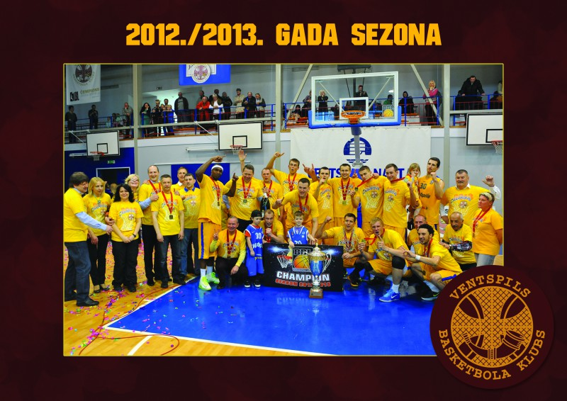 """Basketbola kluba """"Ventspils"""" vēsture"""