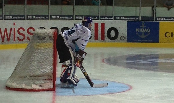 Jaunais vārtsargs Punnenovs debitē Šveices NLA čempionātā