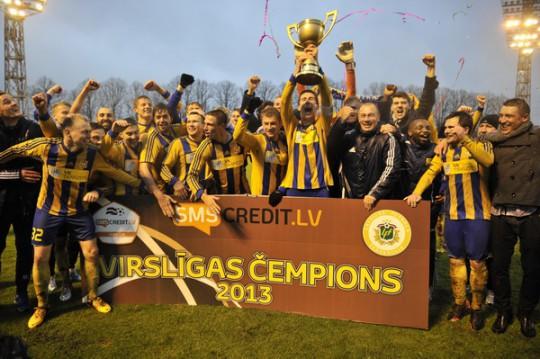 """""""Ventspils"""" uzvar Rīgā un kļūst par Latvijas čempioni"""