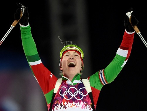 Biatlona stafete sievietēm: Norvēģija, Ukraina vai tomēr Baltkrievija?