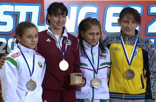 Grigorjeva - trīskārtējā Eiropas čempione