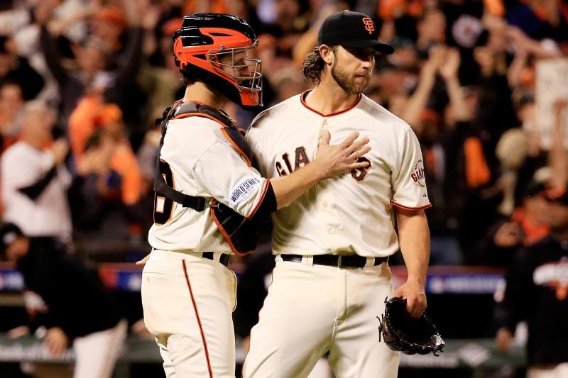 """Bamgārners un Kraufords lieliski """"Giants"""" uzvarā"""
