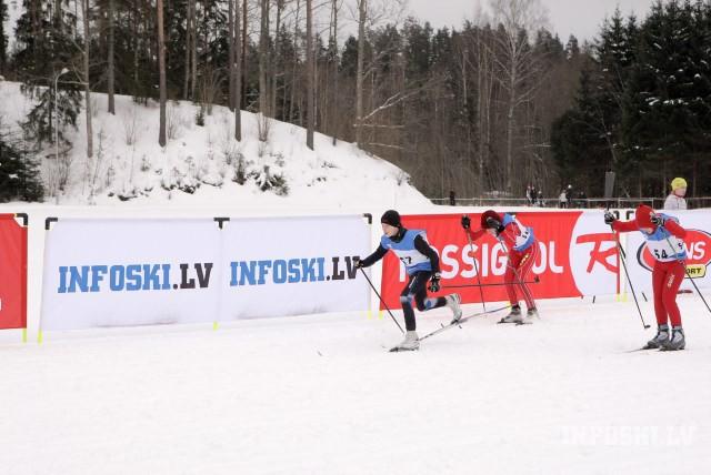 Četriem jauniešiem trešās uzvaras šosezon Latvijas čempionātā slēpošanā