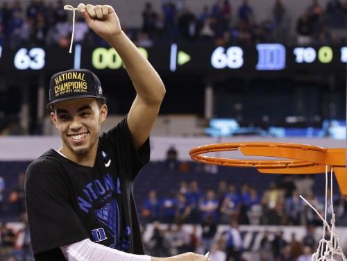Djūka universitāte atspēlējas un piekto reizi triumfē NCAA