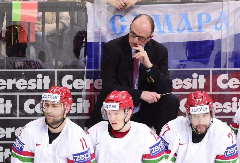 """Baltkrievijas izlases treneris: """"Esmu priecīgs, ka spēle ir beigusies"""""""