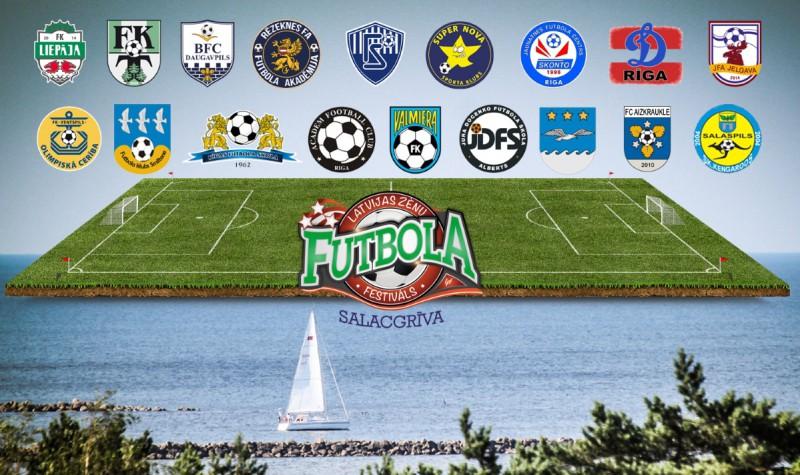 Ar elites komandu cīņu noslēgsies Zēnu Futbola festivāla sezona