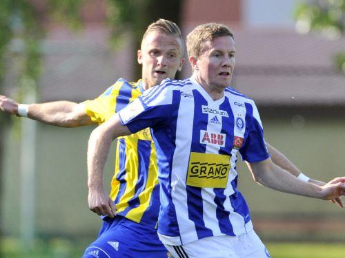 """""""Ventspils"""" zaudē arī Helsinkos un izstājas no Čempionu līgas"""