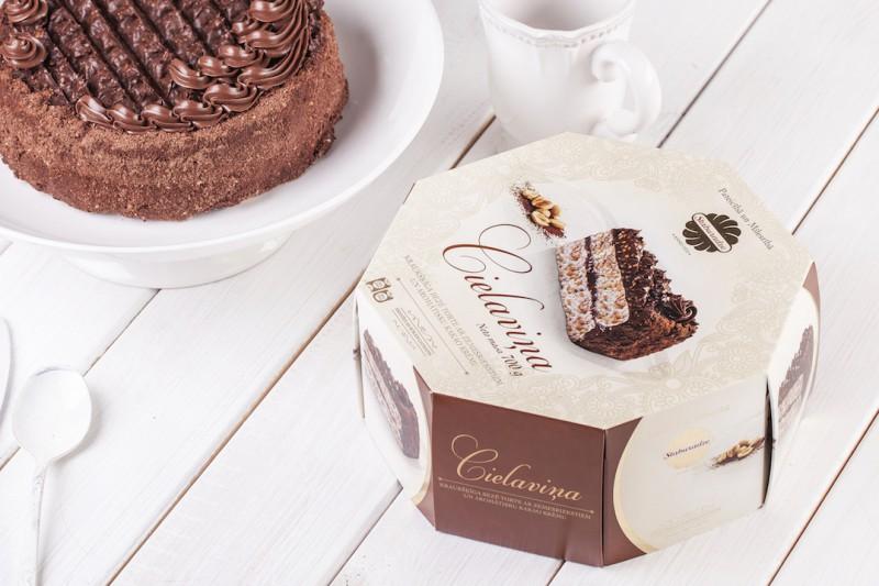 Staburadzes tortēm radīts jauns iepakojuma dizains