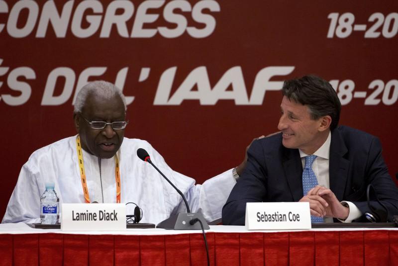 Bijušais IAAF prezidents Djaks saistībā ar korupciju Francijā stāsies tiesas priekšā