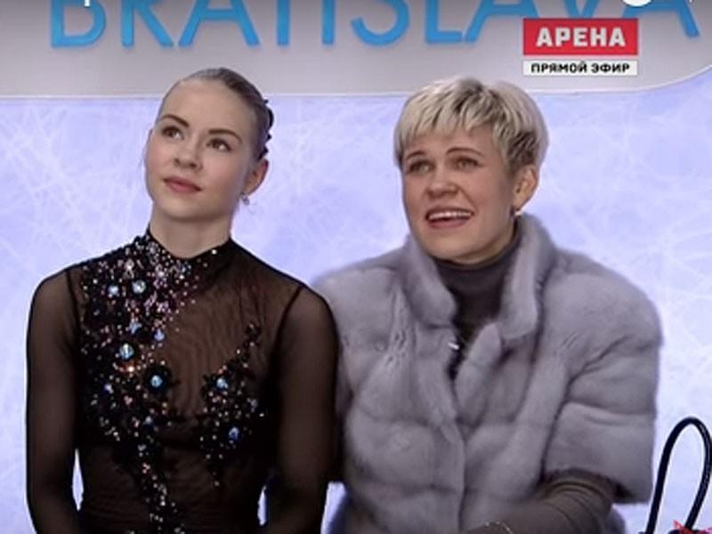 """Platonova: """"Skatītājiem likās, ka Angelinai jābūt trijniekā..."""""""