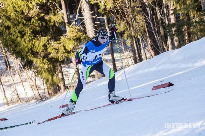 Slēpotāja Patrīcija Eiduka iegūst 21.vietu JZOS Lillehammerē, Vīgants tikai 31.vietā