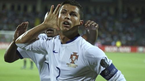 Portugāles sastāvs – superzvaigzne Ronaldu un daudz debitantu