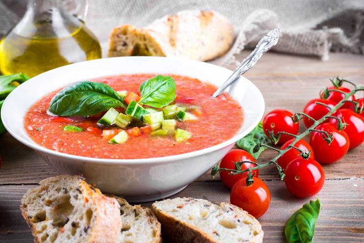 Gaspačo - lieliska zupa karstai vasaras dienai