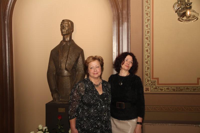 Atzīmējot izcilā diriģenta Edgara Tona simtgadi, LNO Beletāžas zālē atgriežas viņa skulptūra