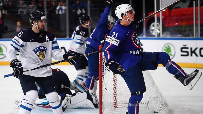 Francija sakauj Somiju un sarīko hokeja svētkus Parīzē, ASV neatstāj cerības dāņiem