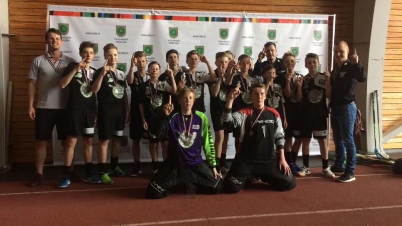 Par pirmajiem U-13 čempioniem kļūst talsinieki