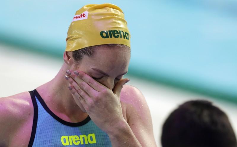 Šēstrema labo pasaules rekordu 50 metros brīvajā stilā, Sīboma nopelna pirmo zeltu Austrālijai