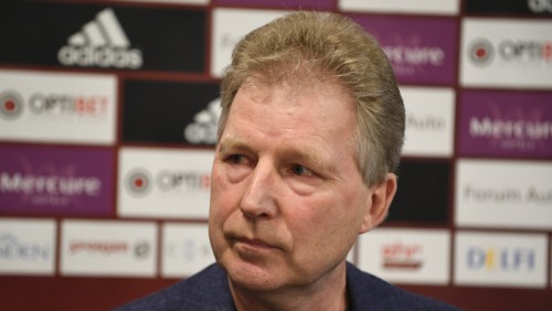 Starkovu atlaiž no Latvijas izlases galvenā trenera amata