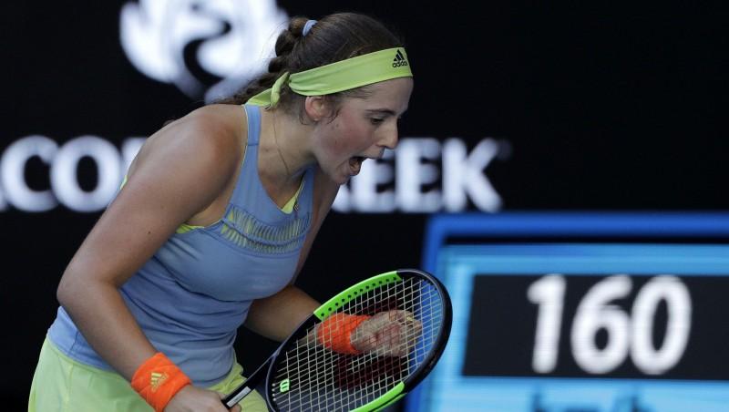 """Ostapenko iztur pirmās grūtības un sasniedz """"Australian Open"""" trešo kārtu"""