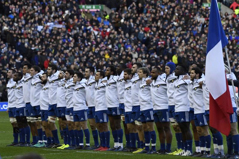 Francijas izlases regbistus tur aizdomās par kaušanos Edinburgas ielās
