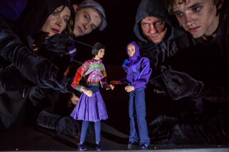 """""""Romeo un Džuljeta"""" pirmizrāde Leļļu teātrī"""