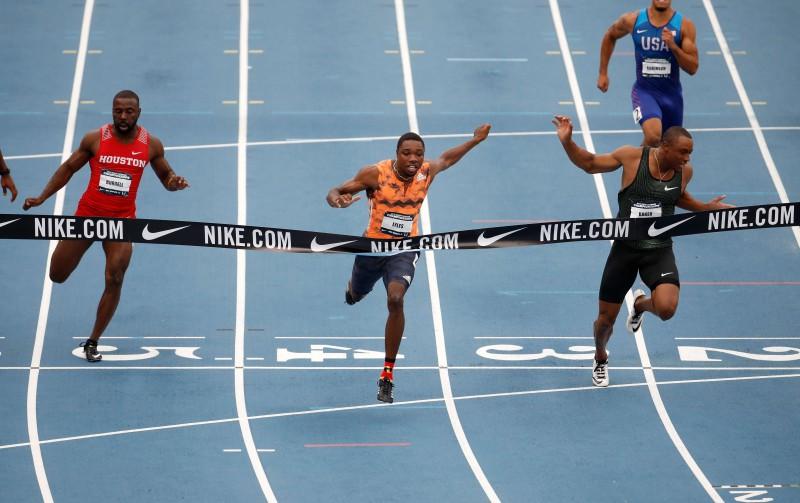 Lailss uzstāda jaunu sezonas labāko rezultātu pasaulē 100 metru distancē
