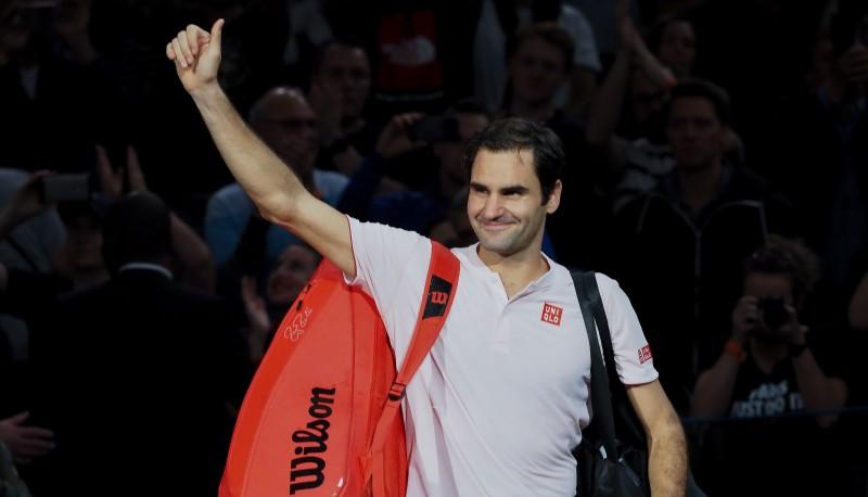 Federers aizsūta Čiliču un Tīmu uz Londonu