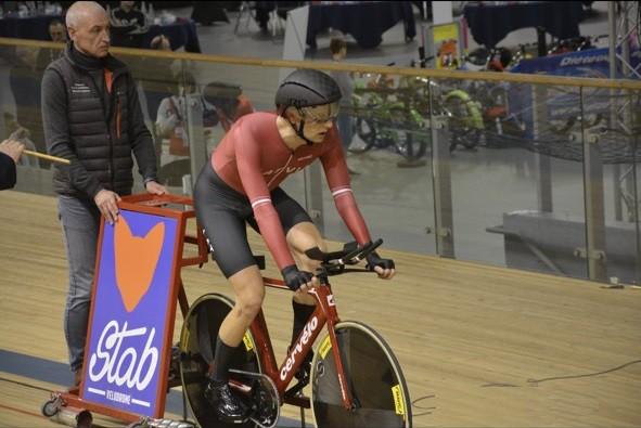 Korņilovs izcīna ceturto vietu iedzīšanā UCI 1. kategorijas treka sacensībās Francijā