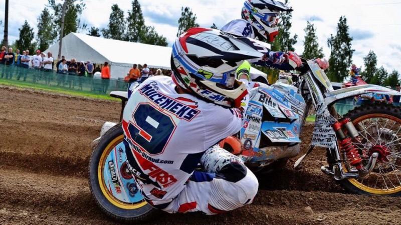 Izveidota jauna latviešu komanda blakusvāģu motokrosā