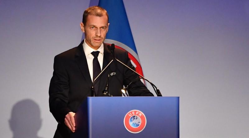 Vienīgais kandidāts Čeferins pārvēlēts UEFA prezidenta amatā