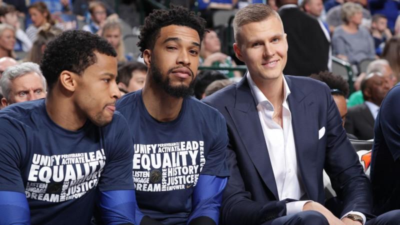 """Porziņģis: """"Šobrid man ir grūti runāt par """"Knicks"""" un aizmainīšanu"""""""