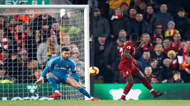 """""""Liverpool"""" ierāda vietu """"Watford"""", arī """"City"""" paņem trīs punktus"""