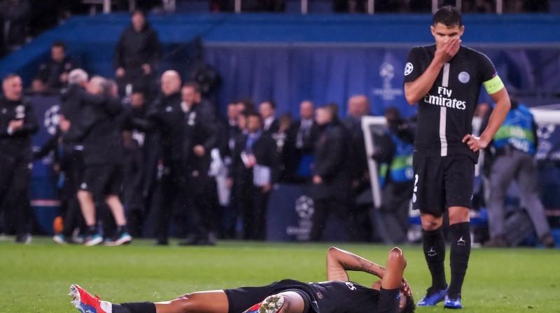 """UEFA skaidro izšķirošos lēmumus: """"PSG aizsarga roka bija tālu no rumpja"""""""