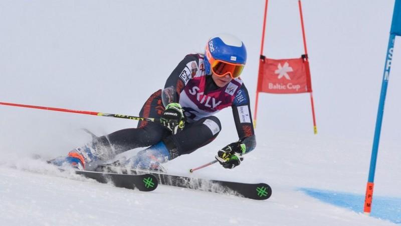 Kalnu slēpotāja Lelde Gasūna gatavojas startēt vismaz līdz Pekinas olimpiskajām spēlēm