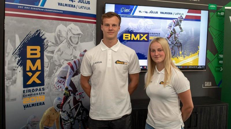 BMX riteņbraucēja Buldinska sasniedz pusfinālu Pasaules kausa posmā