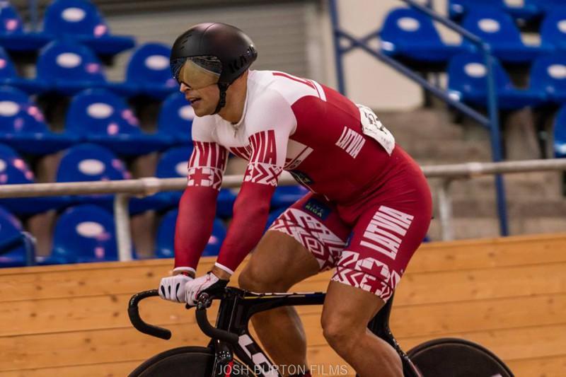 Ķiksis izcīna augsto trešo vietu UCI 1. kategorijas elites treka sacensībās Minskā