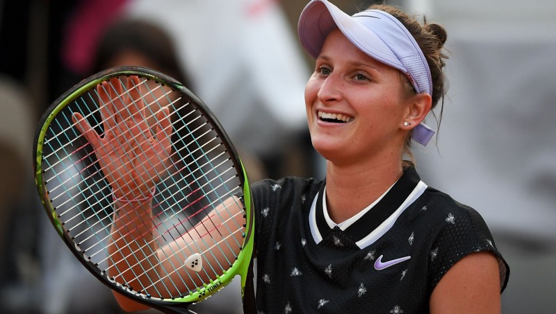 """Vondrušovai pirmā uzvara pret Martiču dod """"Grand Slam"""" pusfinālu"""
