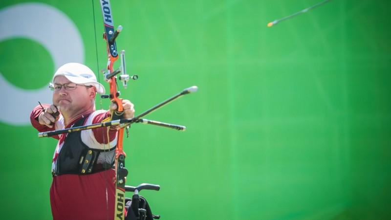 Mellei 17. vieta pasaules čempionātā paralimpiskajā loka šaušanā