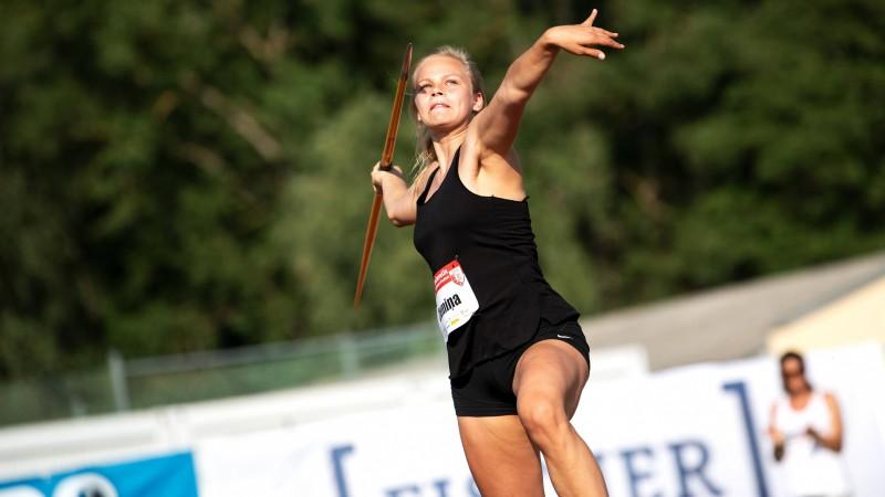 Hanna Gabriela Ziemiņa Vācijā labo Latvijas U16 grupas rekordu šķēpa mešanā