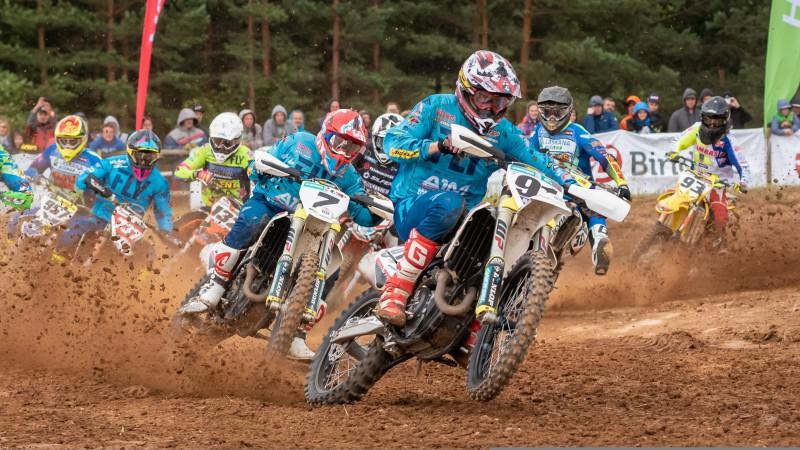 Latvijas motokrosa čempionāts ar 4.posmu turpināsies Dobelē