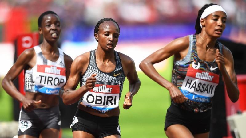 Obiri devītais visu laiku labākais rezultāts 5000 metros, Hasana labo Eiropas rekordu