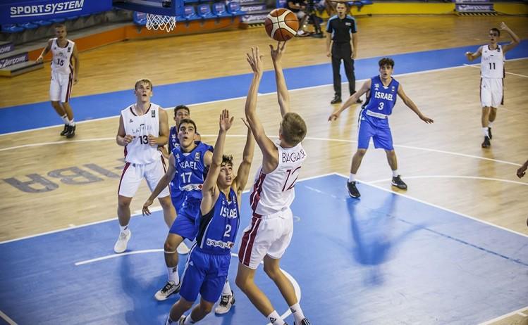 Latvijas U16 izlase EČ ievadā zaudē Izraēlai