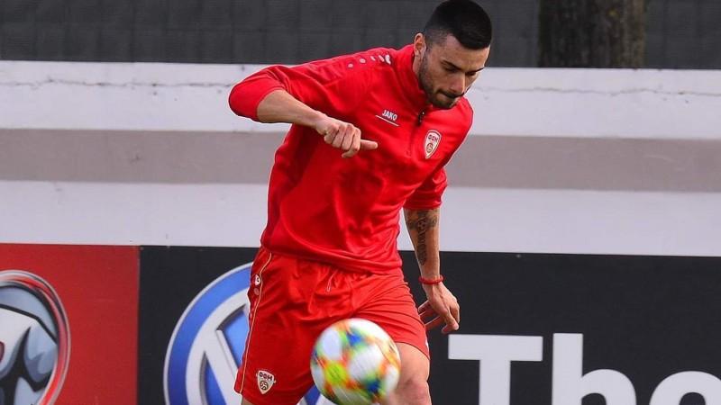 """Ziemeļmaķedonijas futbolists: """"Zinām Latvijas futbolistu kvalitātes"""""""