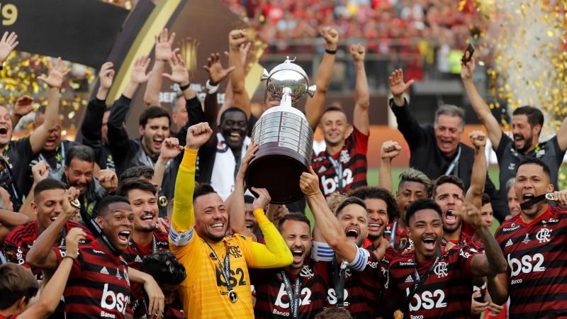 """Gabriels galotnē izrauj """"Flamengo"""" dramatisku triumfu """"Libertadores"""" kausā"""